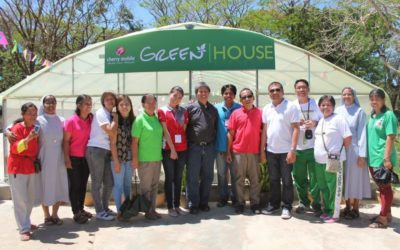 Barangay Cherry Mobile Turns Over Gift of Sustenance to DSWD Haven for the Elderly