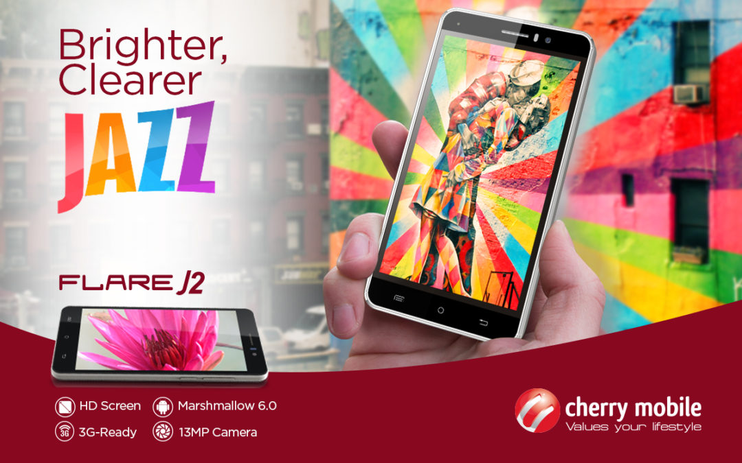 Jazz Up Your Day with Cherry Mobile FLARE J2
