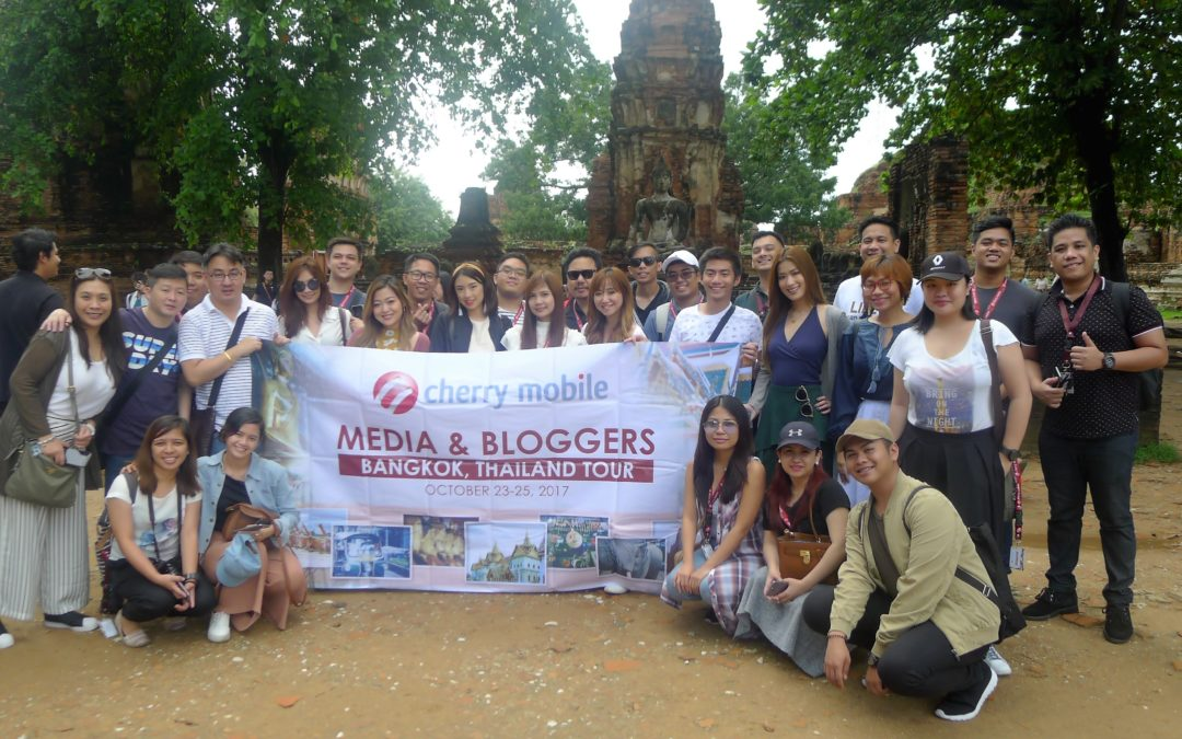 Cherry Mobile Brings Media and Bloggers to BKK, Thailand