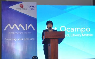 Cherry Mobile launches Intel-powered MAIA Series, introduces Janella Salvador as new endorser
