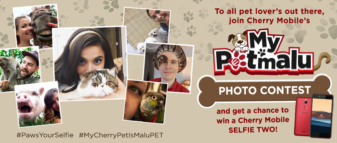 "Win a Selfie Two with Cherry Mobile's ""My PETmalu"" Photo Contest"
