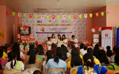 Barangay Cherry Mobile Supports National Celebration of Women's Month