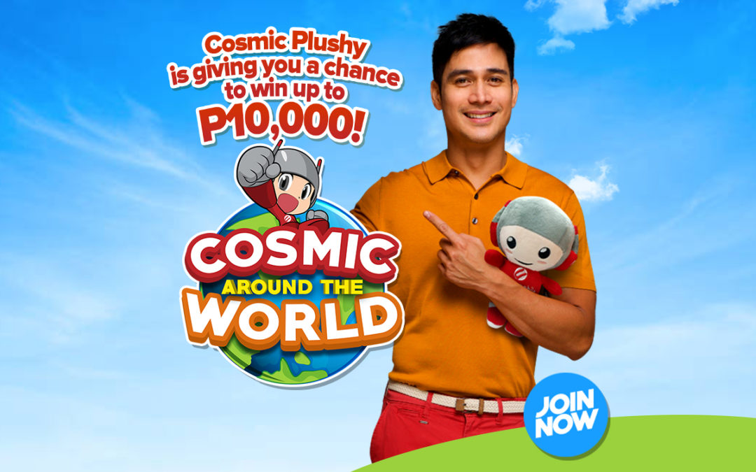 Win up to Php10,000 with Cherry Mobile's Plushy Photo Contest!  #CosmicAroundTheWorld