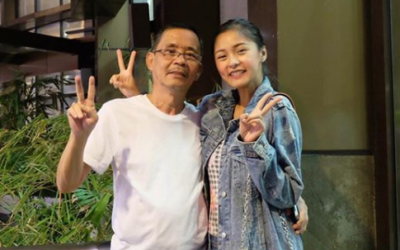 Kim Chiu shares Cherryfic moments with his Super Dad!  Give their capes a break!