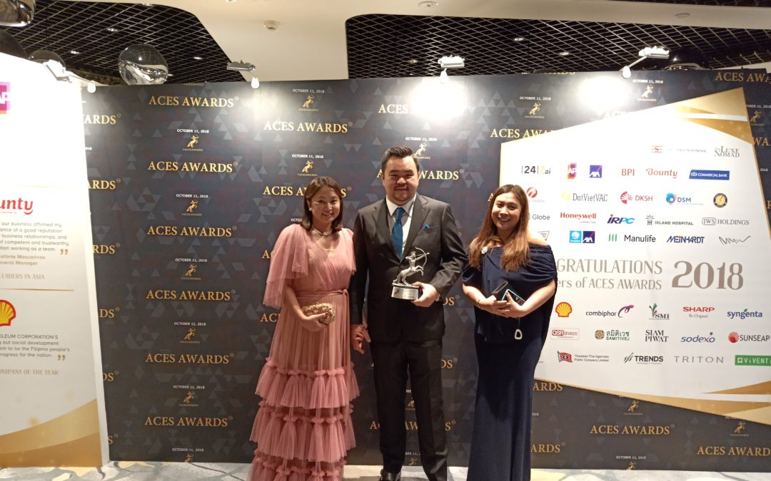 Cherry Mobile gets recognized at ACES 2018 Awards in Singapore