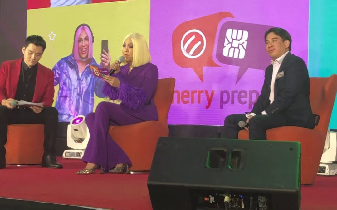 Cherry Prepaid and Cherry Mobile welcomes Vice Ganda